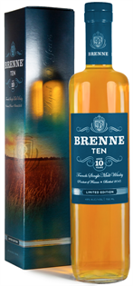 Brenne Whiskey Single Malt 10 Year 750ml